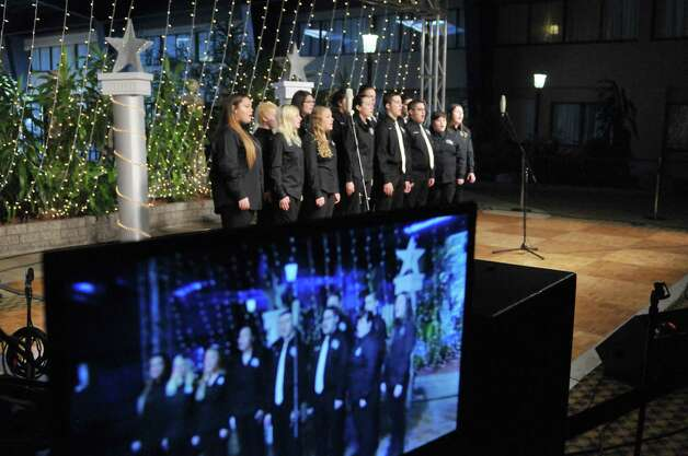Members of After Beat, from Cohoes High School, perform at the 55th Annual Center for Disability Services Telethon on Sunday, Jan. 25, 2015, in Albany, N.Y.     (Paul Buckowski / Times Union) Photo: Paul Buckowski / 00030341A