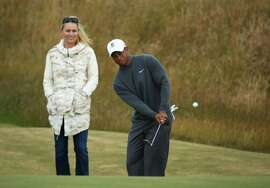 They're the most (in)famous couple in sports right now: Tiger Woods and Lindsey Vonn. After his marriage blew up, Tiger shocked the world by announcing on Facebook he was dating skier Vonn. The pair have been together since 2013, the year Vonn and first husband Thomas' divorce was finalized.