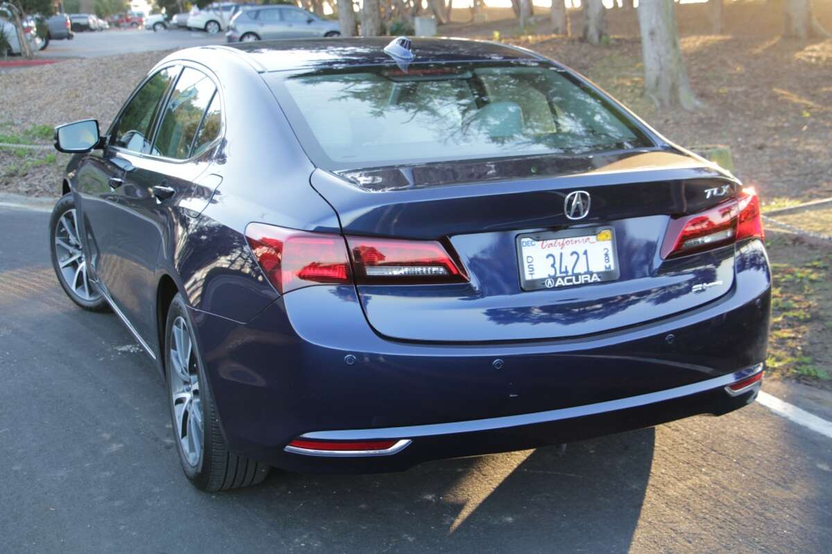 """The TLX has a choice of drive systems - front-wheel-drive or Acura's """"super handling all-wheel-drive"""" - and engine/transmission combinations. The base model carries a 2.4-liter 200-horsepower four-cylinder and there's an optional 3.5-liter, 290-horse V6. Fuel economy ranges from 24/35 mpg city/highway for the base car to 21/31 mpg city/highway for the AWD model. FWD cars come with an 8-speed automatic and the AWD model sports a 9-speed automatic."""