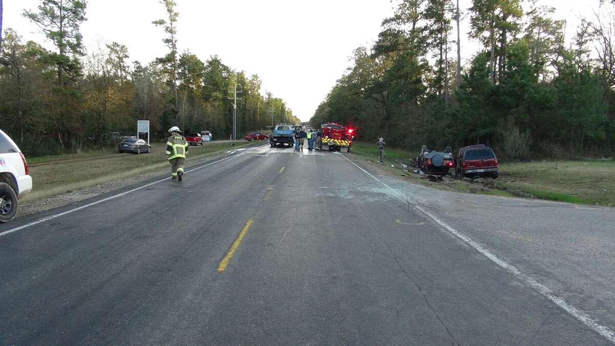 They arrived to find a Toyota RAV 4 upside down, with three occupants trapped and in critical condition. Montgomery and Magnolia Fire Departments also responded and assisted in extricating the victims from the vehicle.