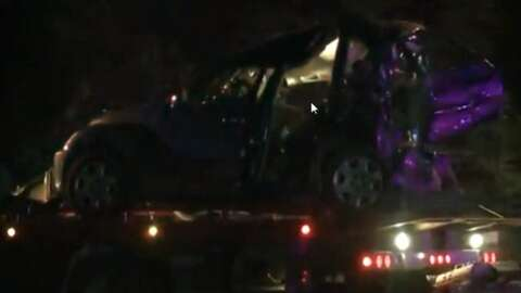 Deadly wreck at same spot of firefighter's death in Grimes - Houston