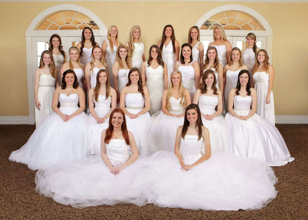 The National Charity League, Inc., Azalea Chapter will honor its graduating seniors at its annual Senior Presentation in late February at the Omni Houston Hotel at Westside. They are, from left, front: Tracey Mumey and Caroline Wilson; second row: Savannah Botkin, Katelyn Dacy, Megan Vos, LeeBeth Liles, Fallon Gillooly and Kathryn Zabcik; third row: Elaine Renberg, Jessica Saxman, Kylie Liddell, Kathleen Comstock, Jacquelyn Siegele, Makayla Faldyn, Jaclyn Heiser, Emily Smith and Madeline Bishop; back row: Sara Kelley, Alexis Henry, Kaylie Nessen, Taryn Siegele, Emily Williams, Makayla Russell, Brittany Nollkamper and Kristen LaCour.