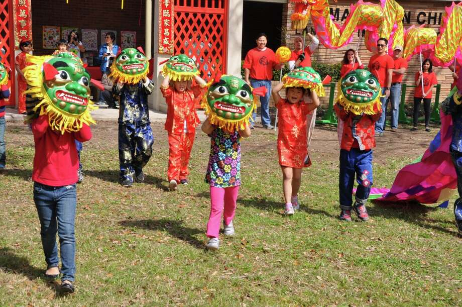 Chinese New Year with the Mandarin Chinese Language Immersion School PTO (MCLIMS). Presented by MCLIMS PTO & Vision Optique. This school is part of Houston Independent School District. Photo: Courtesy MCLIMS