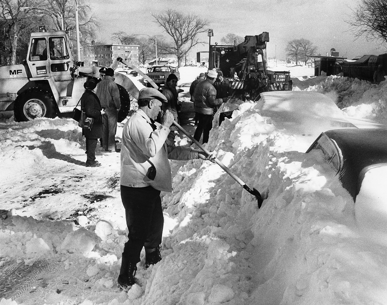 Historic Storm The Blizzard Of 1978 Connecticut Post