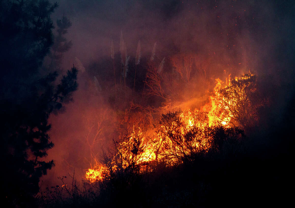 Firefighters were able to contain the Pacifica brushfire, which burst out in a month that's normally one of the three wettest of the year.