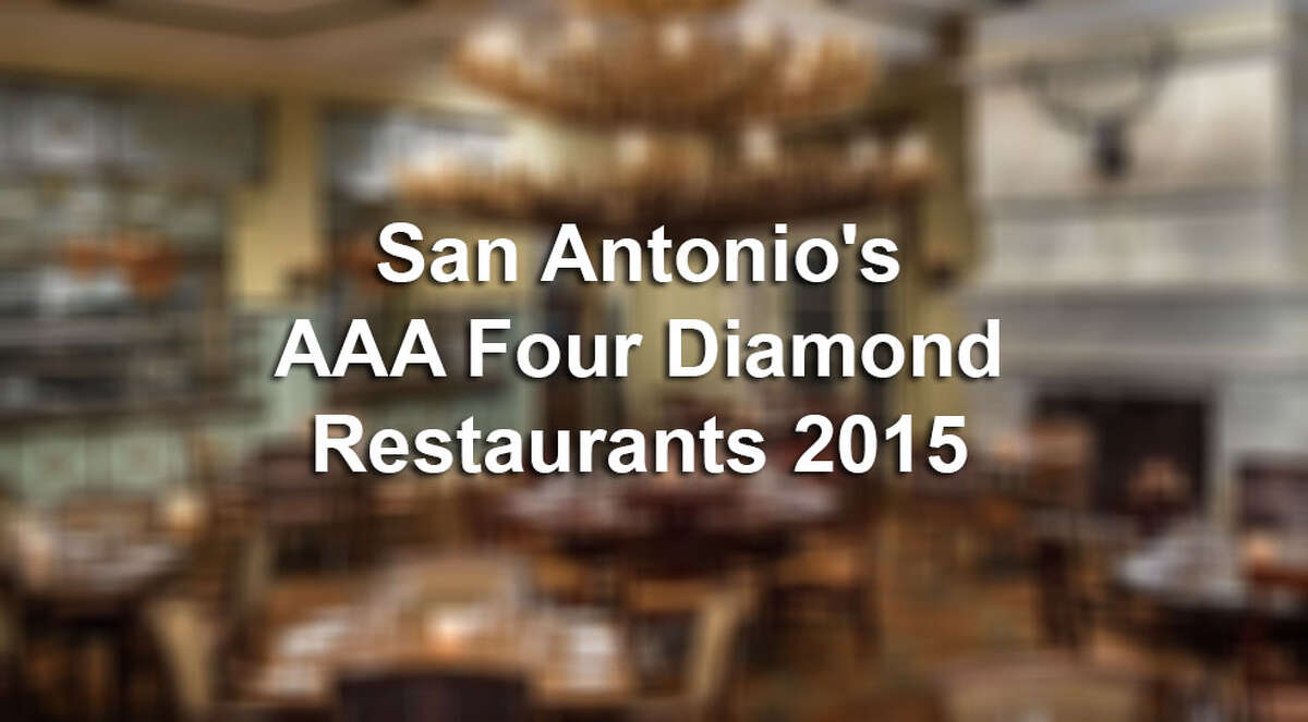 There are six Four Diamond Restaurants here in San Antonio, according to AAA. Click through the slideshow to see where you can get a taste of high-class service.