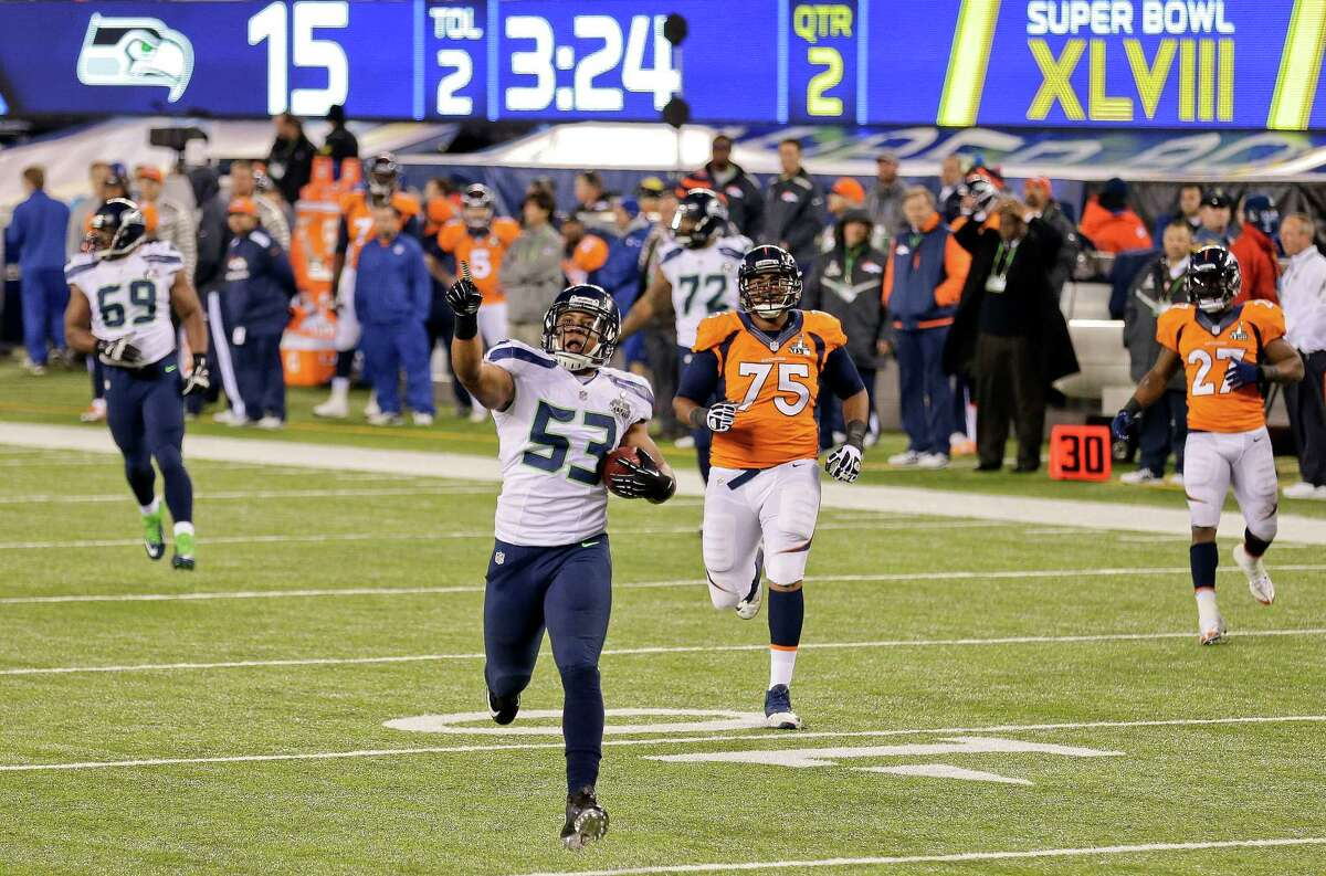 51. XLVIII: SEAHAWKS 43, BRONCOS 8 Date: Feb. 2, 2014 Site: MetLife Stadium; East Rutherford, N.J. MVP: Malcolm Smith, LB, Seattle Why it's No. 51: Only a Seattle diehard considers this a great game. The dream matchup of Denver's record-setting offense against Seattle's fierce defense was pretty much decided after a safety on the Broncos' first play. They never seemed to be in the game after that, with things quickly spiraling out of control.