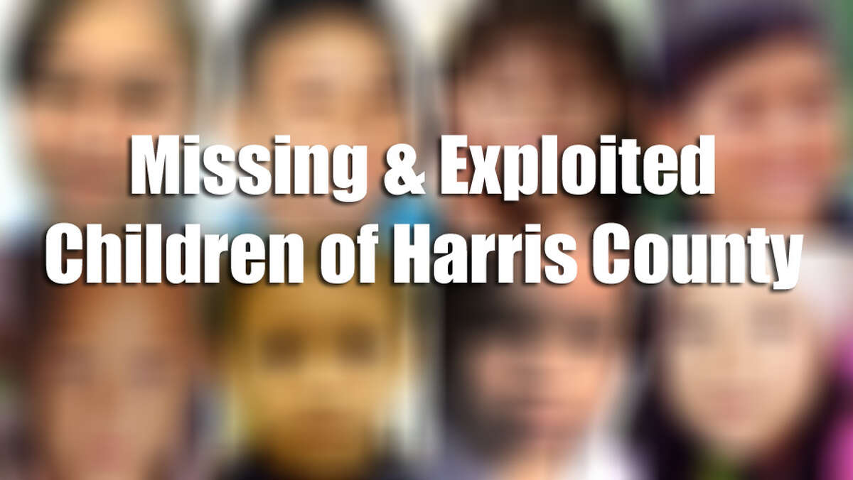 These Houston-area children are listed as missing by the National Center for Missing & Exploited Children.