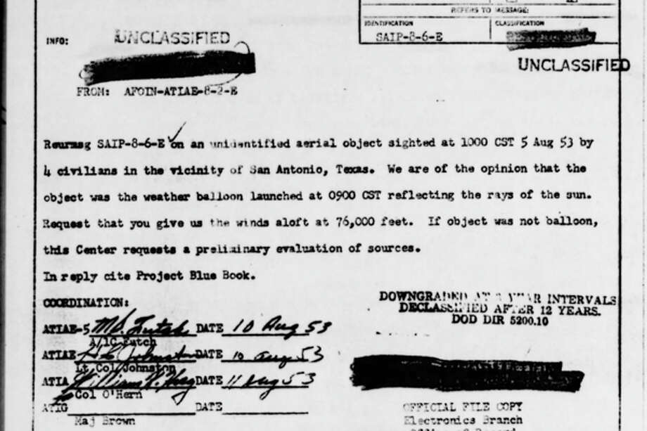 """project blue book reports We were all led to believe that project bluebook fronted by dr j allen hynek  was  he re-iterates his belief that the reports of the 'real, hard """"unknowns""""' were ."""