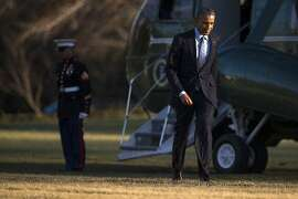 Barack Obama: bored silly?