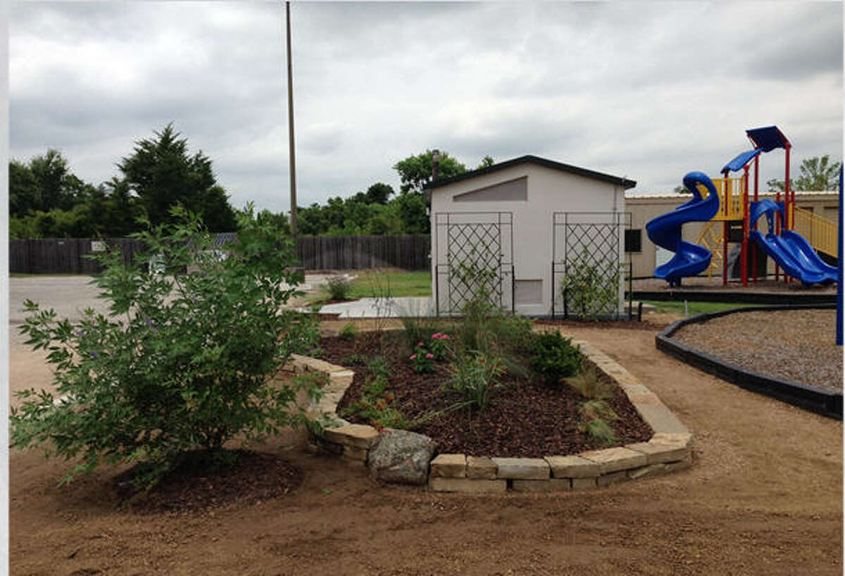 Irene Stern Butterfly Garden, a project by the city of Fulshear, received Honorable Mention recognition in the Projects Under $500,000 category. This photo was taken as the garden was being built.