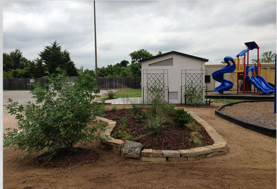 Irene Stern Butterfly Garden, a project by the city of Fulshear, received Honorable Mention recognition in the Projects Under $500,000 category. This photo was taken as the garden was being built. Photo: Fulshear Parks And Recreation