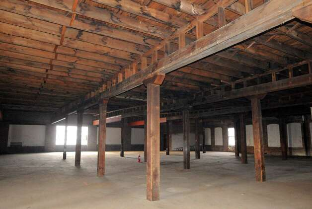 Interior of the former Tilley Ladder Company building Wednesday, Jan. 21, 2015, in Watervliet, N.Y. It is slated to be renovated into loft apartments. (Michael P. Farrell/Times Union) Photo: Michael P. Farrell / 00030263A