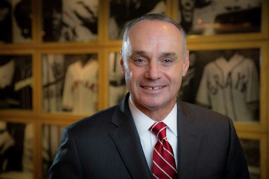 Rob Manfred, the new commissioner of Major League Baseball, in New York, Jan. 23, 2015. A labor lawyer by trade, Manfred has worked for MLB since 1998, and as Bud Seligé¢â'TMs top lieutenant, negotiated three collective bargaining agreements. He sees technology and media as the key to unlocking baseballé¢â'TMs appeal to younger demographics. (Tony Cenicola/The New York Times) Photo: TONY CENICOLA, STF / NYTNS