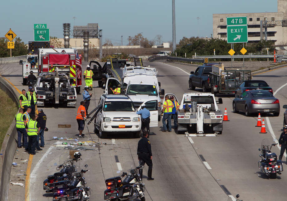 In 2016, the number of car crashes in the Houston-Galveston hit 170,099, a 40 percent increase since 2012.See a breakdown of the crashes and their victims in the following gallery. Photo: Cody Duty, Houston Chronicle / © 2014 Houston Chronicle