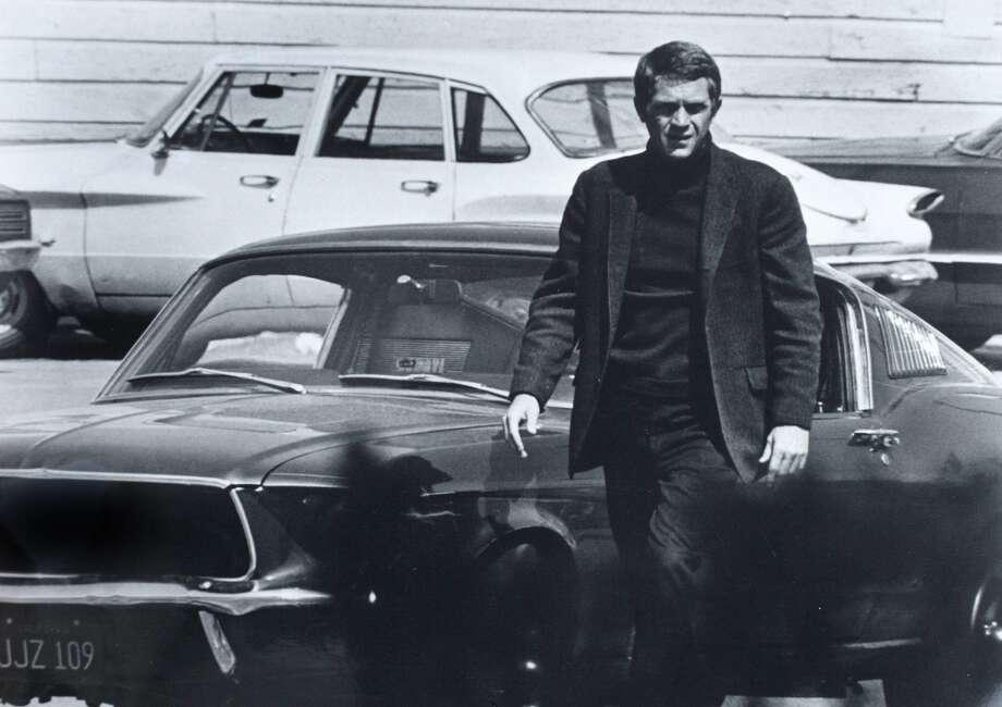 """""""Bullitt,"""" starring Steve McQueen. Photo: SFC"""