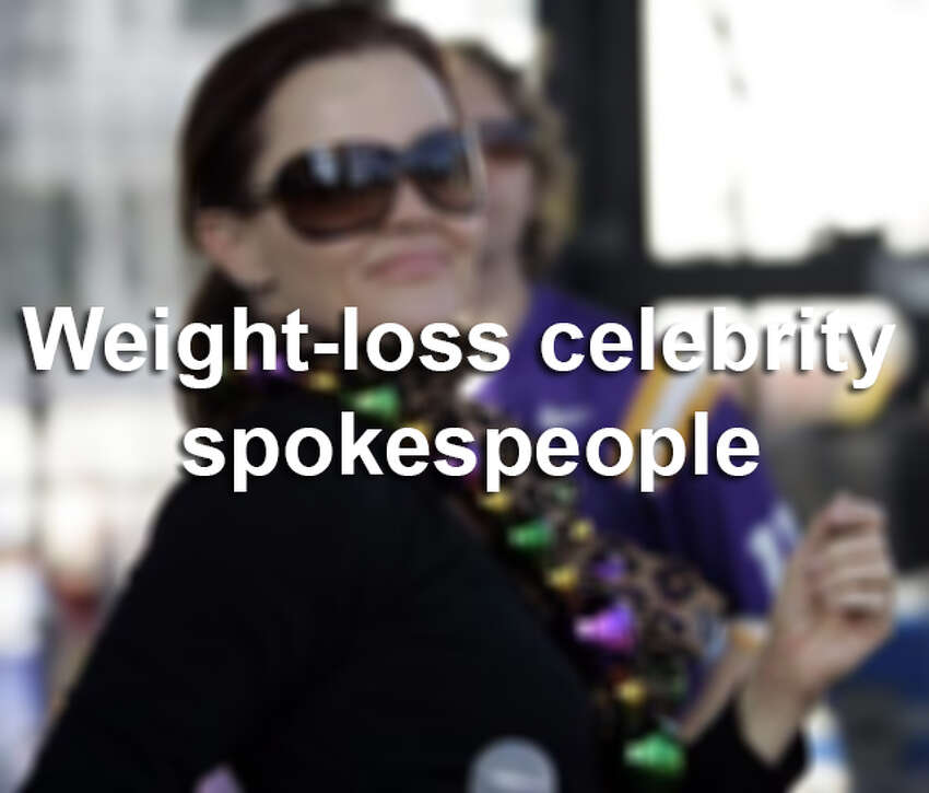 Weight loss systems, pills, surgeries and diets: celebrities have tried them all. Here's a look at celebrity weight-loss spokespeople through the years.
