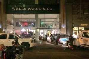 Thieves ram original Wells Fargo bank, steal gold - Photo