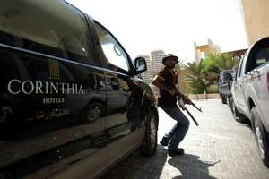 Gunmen storm Libyan hotel; 4 foreigners, 5 guards dead - Photo