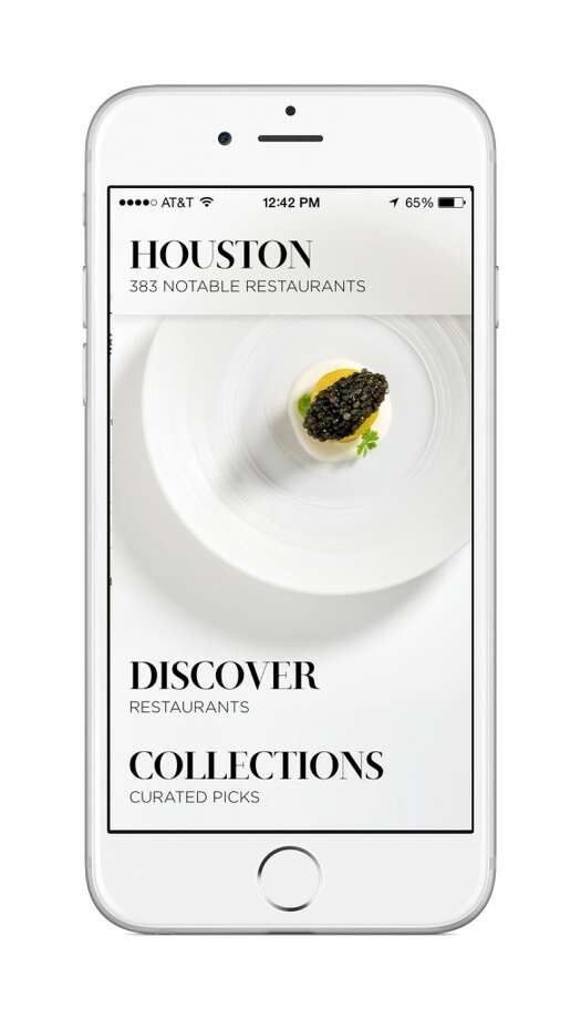 Flavour, a restaurant discovery app, is making its Houston debut this week. It enables the exploration of more than 380 selected restaurants in Houston sorted by neighborhood and cuisine. (Photo: Courtesy)