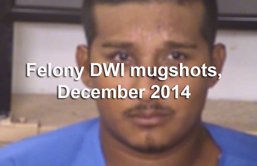 Law enforcement officers arrested more than 50 people in Bexar County for felony drunken driving charges, according to the Bexar County District Attorney's Office. Scroll through the slideshow to see booking photos for each of the 56 defendants arrested in December. A mugshot is not proof of guilt.