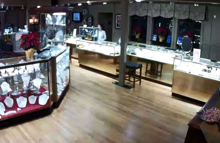 Authorities are looking for four men who robbed a Richmond jewelry store, one attacker exchanging gunfire with an employee.   The incident happened about 6 p.m. Thursday at the Gold Connection Jewelers on Highway 90A, according to the Richmond Police Department. Photo: Richmond Police Department