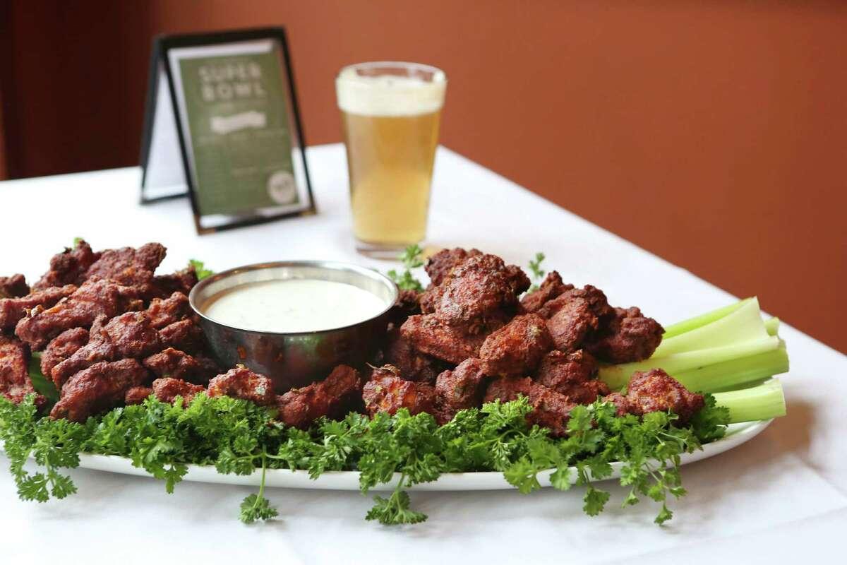 Chef Samuel Beier's Cajun Hot Wings Find the recipe here.