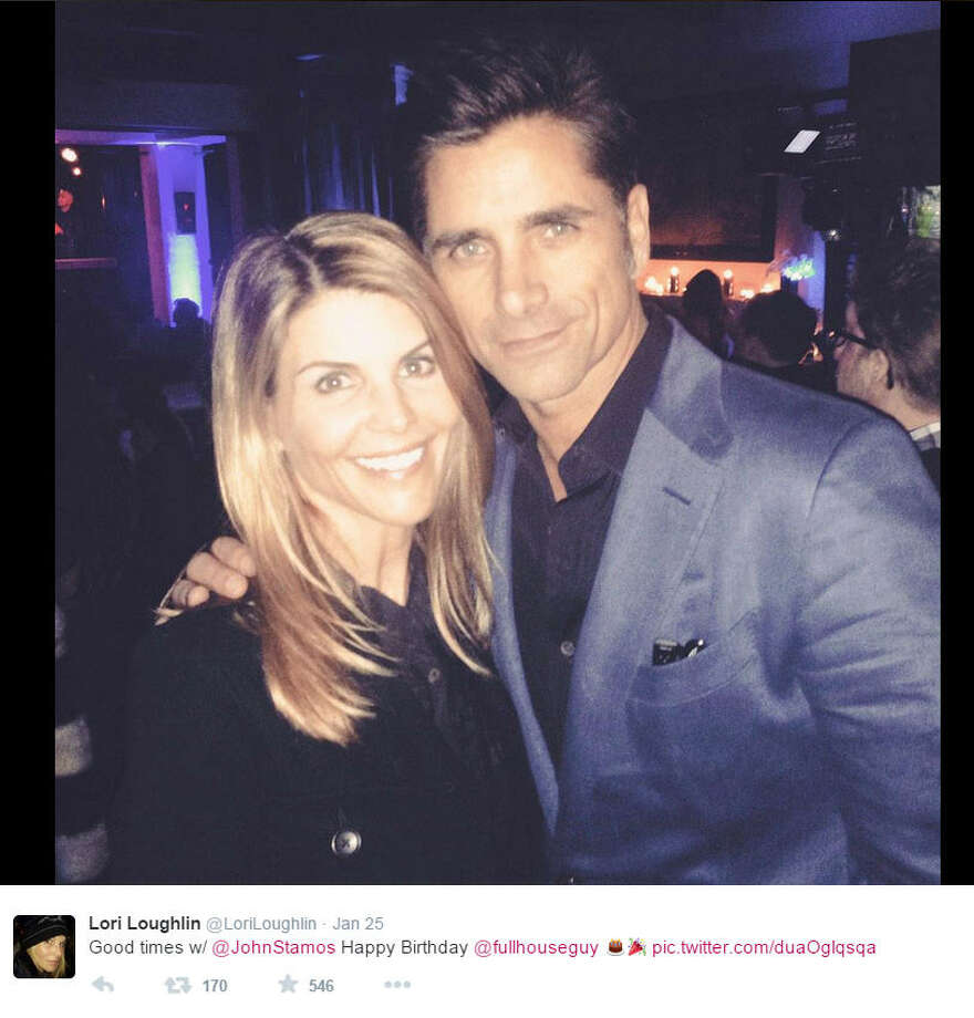 "Lori Loughlin recently posted this picture with Uncle Jesse himself (John Stamos) at the birthday party for the show's creator. While Loughlin and Stamos are partying it up, take a then-and-now look the other ""Full House"" stars."