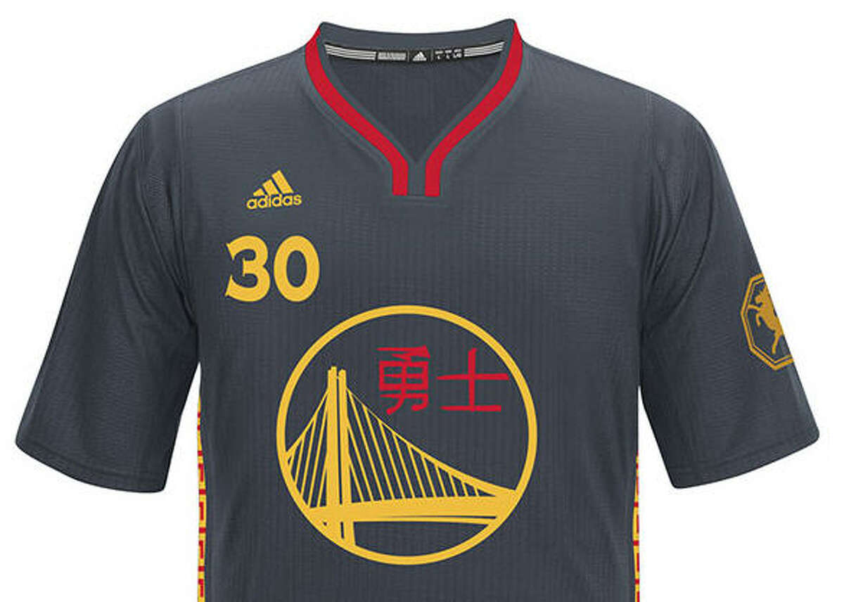 Warriors, 2014-15 Golden State wore these Chinese New Year uniforms three times last season.
