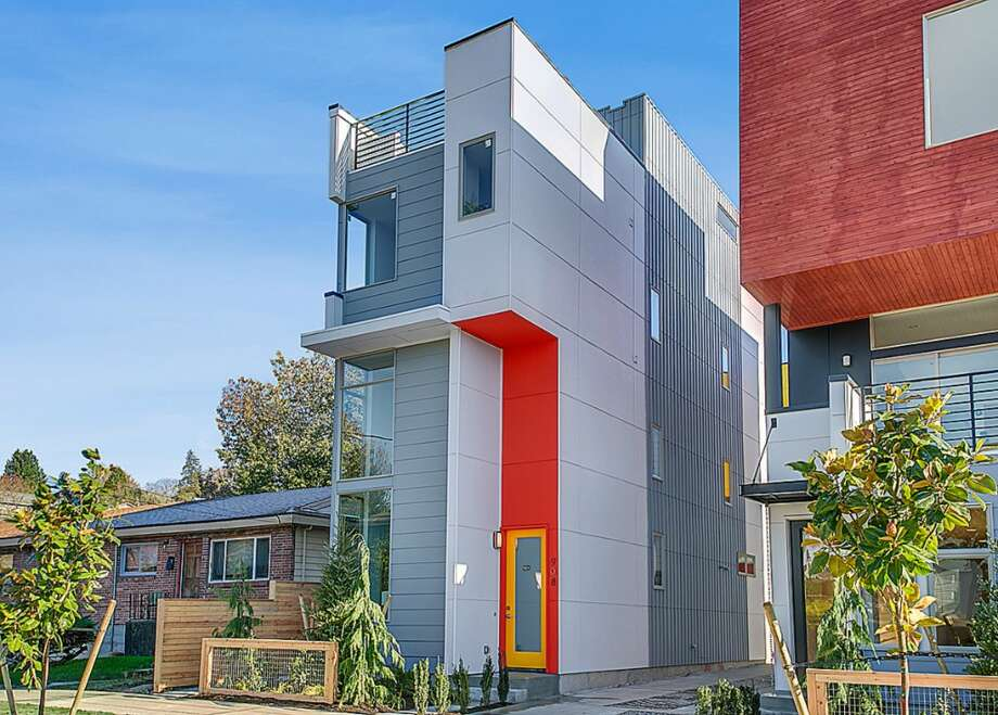 We'll start with the priciest home on our tour, 908 28th Ave. S., which is listed for $574,999. The 1,700-square-foot house, built last year, has three bedrooms, full and three-quarter bathrooms, a loft and a roof deck on a 1,307-square-foot lot. Photo: HD Estates, Courtesy Ron Rubin, RE/MAX Metro Realty