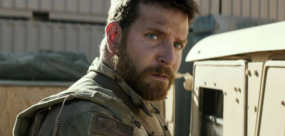 "In this image released by Warner Bros. Pictures, Bradley Cooper appears in a scene from ""American Sniper.""  The film was nominated for an Oscar Award for best feature on Thursday, Jan. 15, 2015. The 87th Annual Academy Awards will take place on Sunday, Feb. 22, 2015 at the Dolby Theatre in Los Angeles. (AP Photo/Warner Bros. Pictures) Photo: Courtesy Of Warner Bros. Picture, Associated Press"