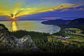 View of  Shakespeare Ranch , on Lake Tahoe.
