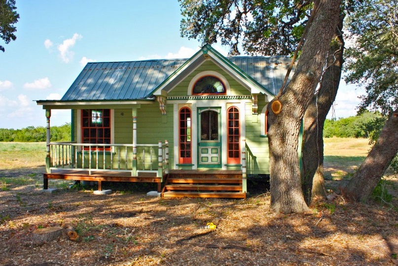 Texas Builders Go Big With Tiny House Construction Business
