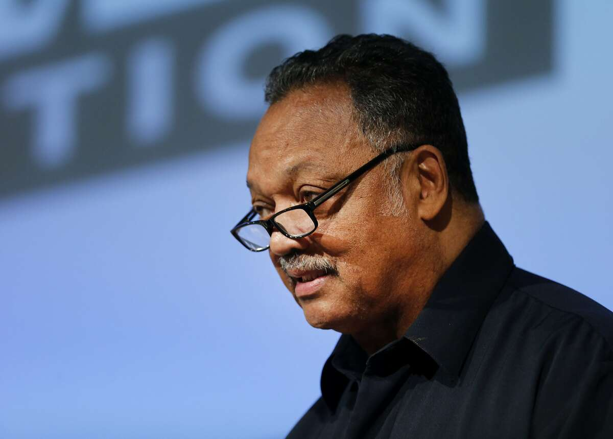 The Rev. Jesse Jackson, Sr. spoke to the crowd about diversity in the workplace Wednesday December 10, 2014. Intel hosted the Jesse Jackson Next Steps to Change the Face of Technology forum, focused on the next steps needed to include minorities in the technology industry.