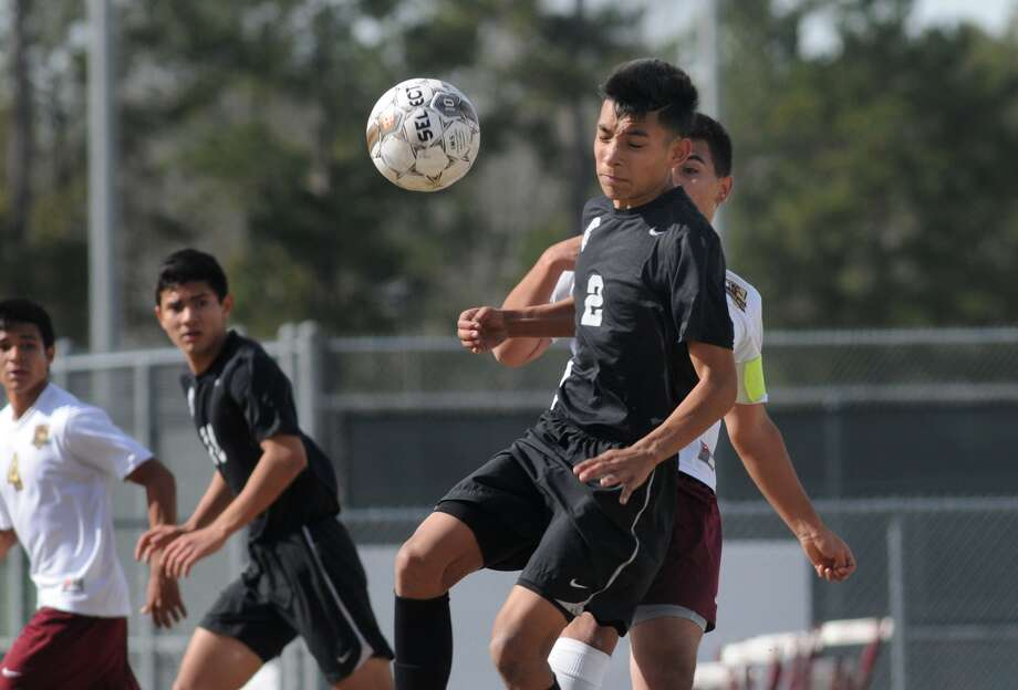 Porter's Abner Rodriguez leads the Spartans in scoring this season. Photo: Jerry Baker, Freelance