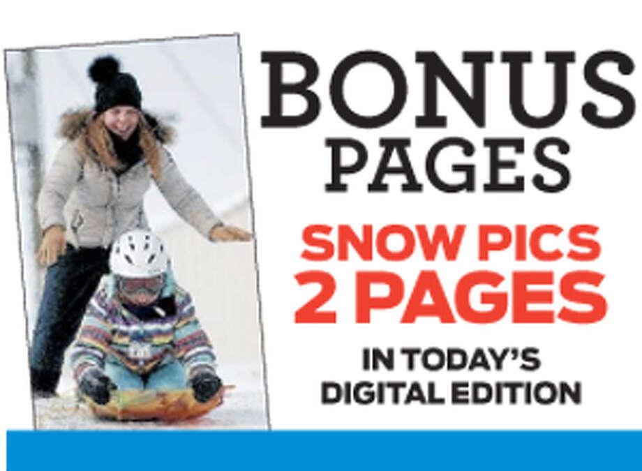 digital e-edition bonus pages snow photos Photo: File Photo / Connecticut Post File Photo