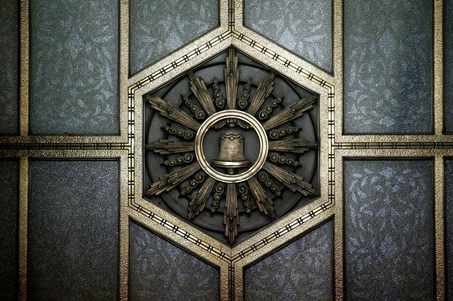 Detail of the Pacific Telephone Building. Photo: Beck Diefenbach / Special To The Chronicle / ONLINE_YES