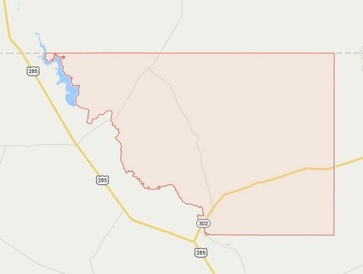 Loving County, Texas Population: 95 Located along Texas-New Mexico border, 195 miles east of El Paso Source: Census Bureau