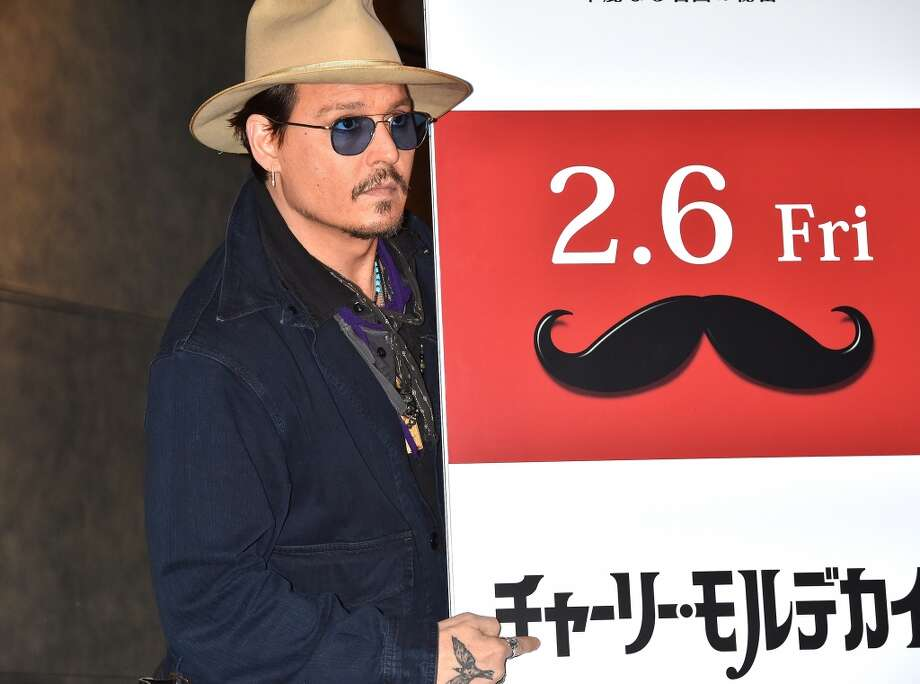 "Johnny Depp attends the photo call for ""Mortdecai"" at The Peninsula Tokyo on January 28, 2015 in Tokyo, Japan. Photo: Koki Nagahama, Getty"