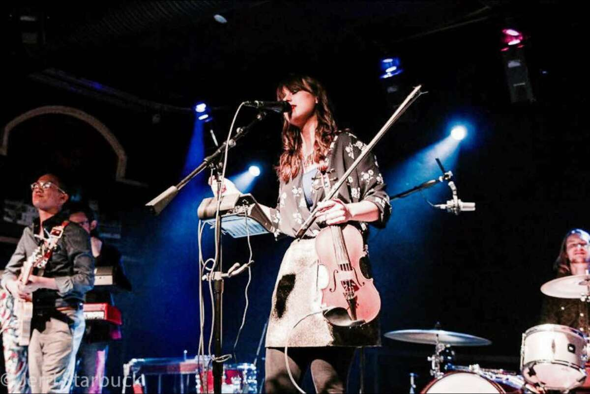 Austin-based fiddler/violinist Ruby Jane an emerging folk-pop star. She and her band perform Saturday at Luna.