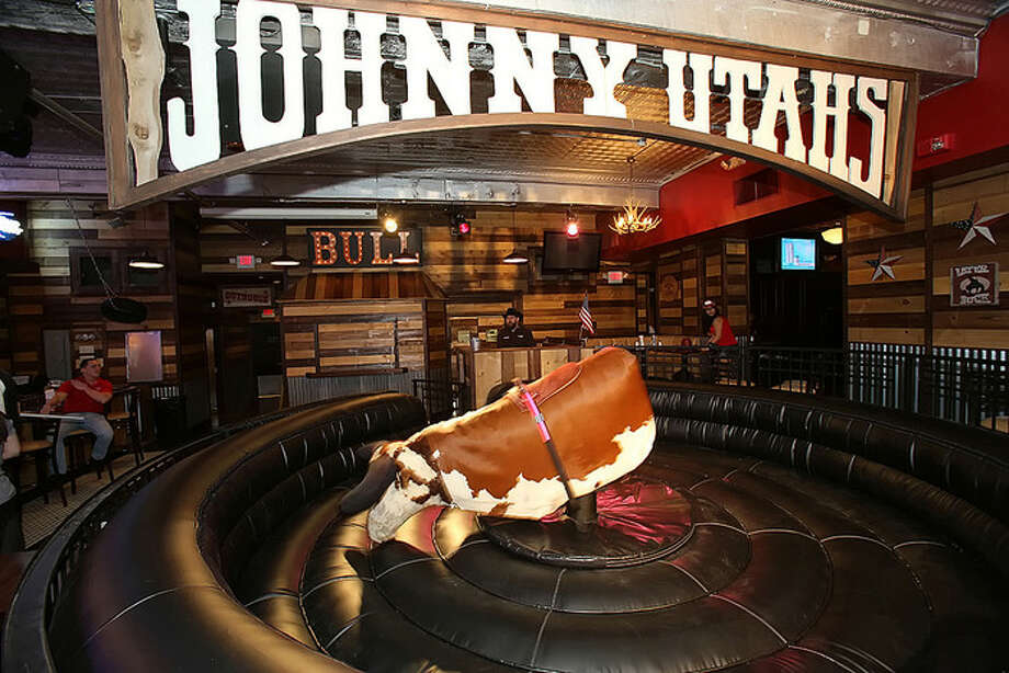 Johnny Utah's - Norwalk: Mechanical bull, appetizer special, Bud Light towers   More Info