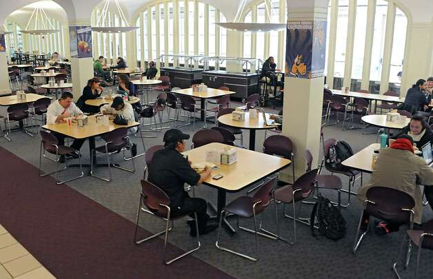 Interior of the campus center at  UAlbany on Tuesday, Nov. 18, 2014 in Albany,  N.Y. (Lori Van Buren / Times Union) Photo: Lori Van Buren / 00029538A