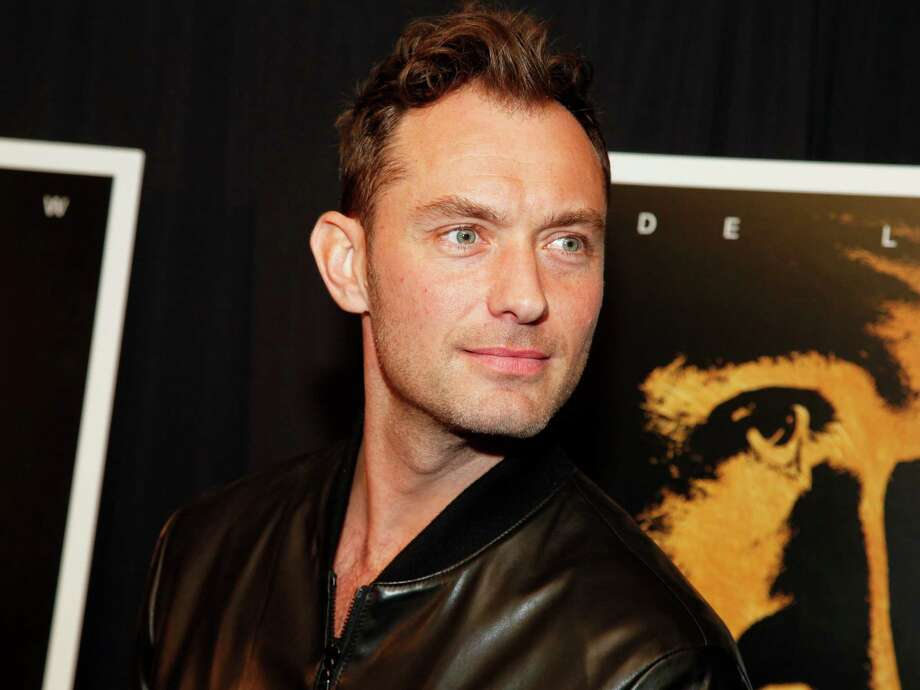 """Jude Law attends the premiere of """"Black Sea"""" at the Landmark Sunshine Cinema on Wednesday, Jan. 21, 2015, in New York. (Photo by Andy Kropa/Invision/AP) ORG XMIT: NYAK103 Photo: Andy Kropa / Invision"""