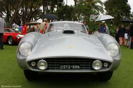 """So did the 1954 Ferrari 375 MM PF Speciale, which won """"best in show"""" at the 2014 Pebble Beach Concours d'Elegance, the most prestigious classic car show in the world. It was originally built for film director Roberto Rosselini."""