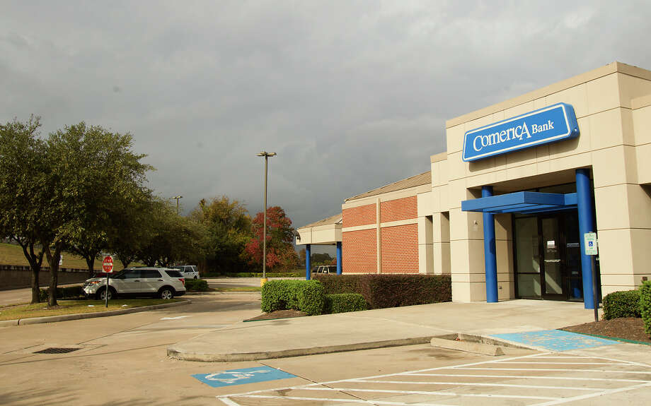 A Comerica Bank in 2012 in Houston.(Cody Duty / Houston Chronicle) Photo: Cody Duty, Staff / © 2012 Houston Chronicle