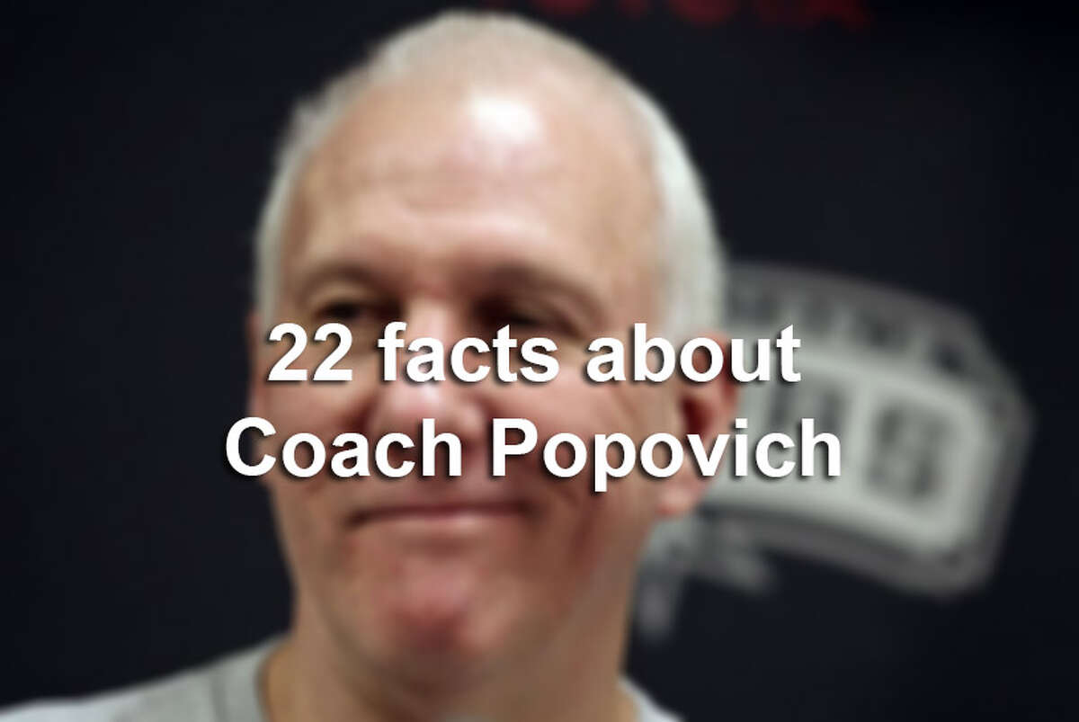 Click through the gallery to see 22 facts you probably didn't know about Gregg Popovich.