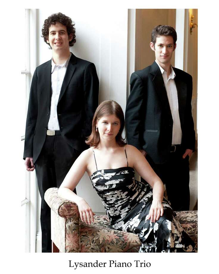 The Lysander Piano Trio will perform a free Young People's Concert Saturday, Feb. 7, at the Pequot Library in Fairfield. Photo: Contributed Photo / Connecticut Post Contributed