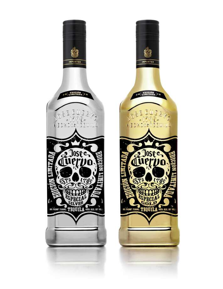 Jose Cuervo is marking its 220th anniversary with the launch of Jose Cuervo Especial Gold and Silver bottles; limited edition bottles in gold and silver metallic coating. Photo: Jose Cuervo / Jose Cuervo