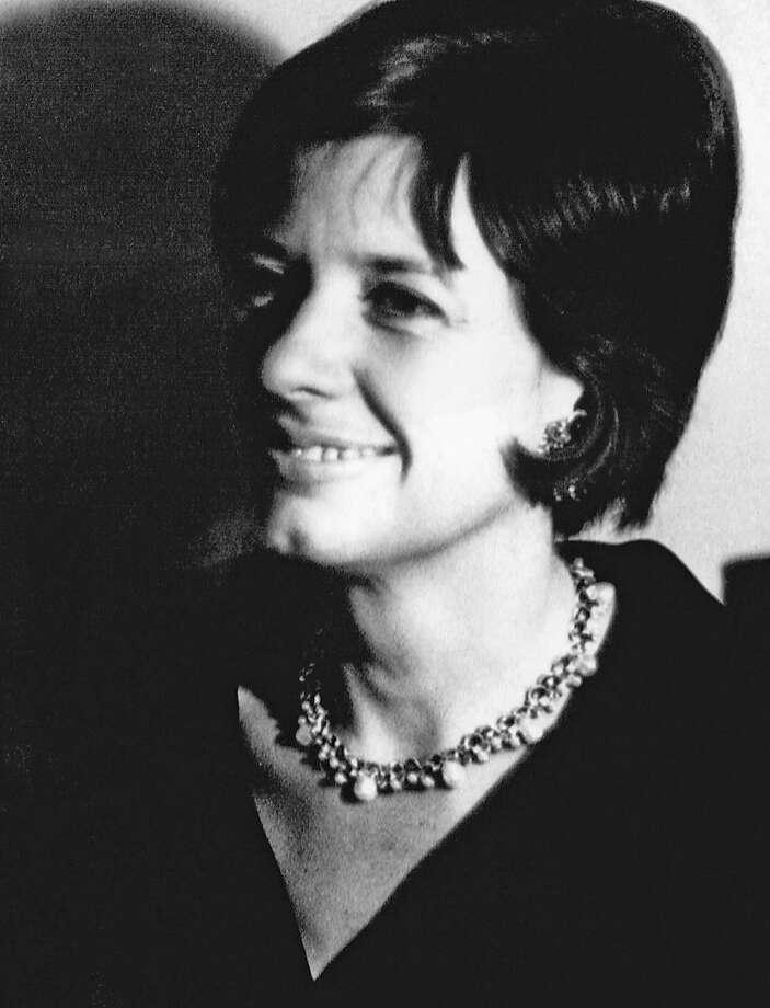 Phyllis Diebenkorn, widow of painter Richard Diebenkorn, in a photo circa 1960.  She  died Jan. 19. Photo: Unkown, Richard Diebenkorn Foundation