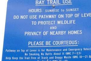 So many rules at Hamilton Bay Trail that you walk on eggshells - Photo
